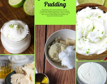 Jasmine Lime Pudding