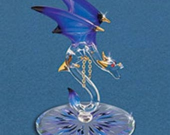 "Glass Baron ""Nitro"" Dragon Figurine"