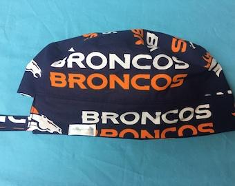 NFL Denver Broncos Reversible Surgical Scrub Cap
