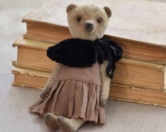 Teddy bear bear artist bear Artist teddy bear Style vintage vintage Teddy Bear stuffed plush gift Gift home decor