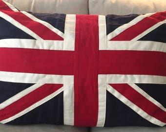 British Flag Union Jack Pillow Cover