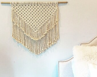 Large Macrame Woven Wall Hanging
