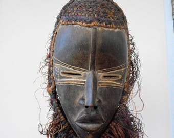 Antique African Dan  mask liberia west Africa