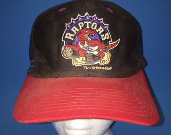 Vintage Toronto raptors snapback Hat adjustable 1990s NBA