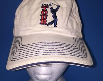 Vintage PGA tour strapback hatAdjustables  1990s dad cap