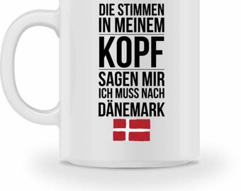 High quality Cup with quote Denmark Gift