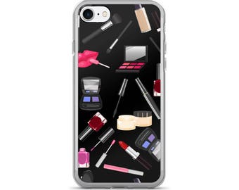Makeup iPhone Case, Phone Case Makeup, Makeup Phone Case, Protective iPhone Case, iPhone 7 Case, iPhone 6 Case, iPhone 5 Case, Makeup Artist