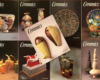 Ceramics Monthly Magazines - 9 Issues from 2005
