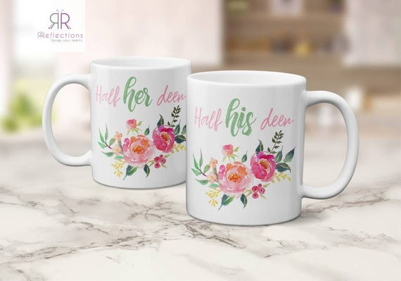Muslim Wedding Gift: Couples Mugs Muslim Wedding Gift Mug Set Anniversary