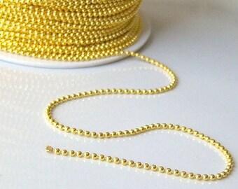 String ball 1 Golden ruler 1.5 mm