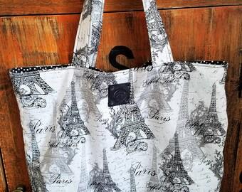 Eiffel Tower Paris Market Bag