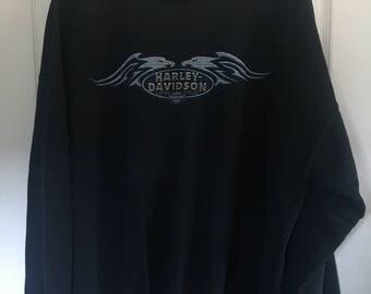 Vintage Harley-Davidson XL Pullover Sweatshirt