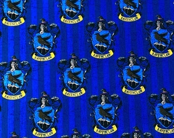 Harry Potter Ravenclaw House Crest Fabric By the Yard
