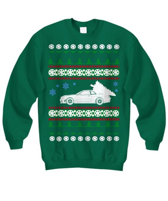 Nissan Skyline R34 GTR Ugly Christmas Sweater stance drifter