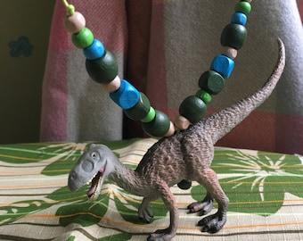 Scary Dinosaur Necklace