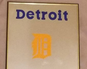 Detroit Tigers Mirror