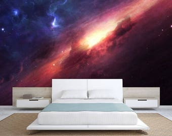 ceiling galaxy, ceiling wallpaper, nebula wall mural, galaxy wallpaper, universe wallpaper, galaxy wall mural, nebula  ceiling wallpaper