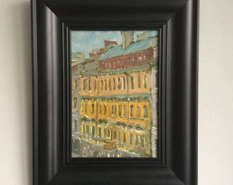 "Picture in the frame. ""Paris street"""