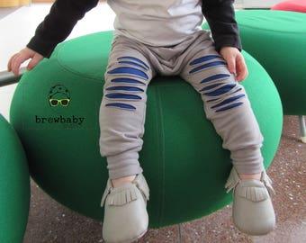 Slashed Harem Pants- Choose Your Colors! (Sizes 0-3 months-5/6)