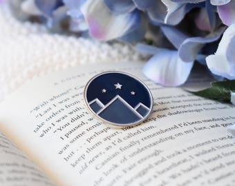Night Court enamel pin