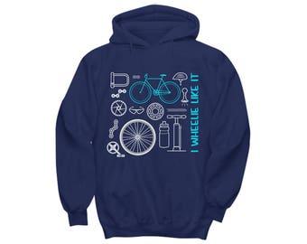 Mountain Bike Gift | Mountain Bike Hoodie | Mtb hoodie | Mountain Biking Hoodie | Cycling Hoodie | Bicycle Hoodie | Mtb Gifts Cycling Gifts
