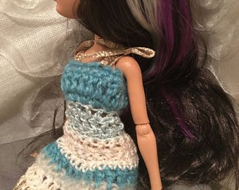 "Monster Ever after High - dress crochet ""Sky my husband!"""