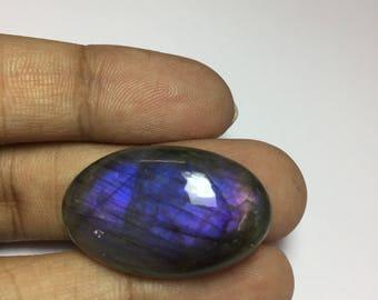 30% OFF Natural Purple Labradorite,32x20 mm Oval Shape With Multi Flash Labradorite,Nice Quality Purple Labradorite Cabochon #SAH534