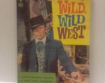 the wild wild west gold key comic book 1969 Robert conrad