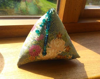 PYRAMID Pin Cushion with beads