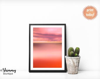 Pink Sky Art Print - FREE 5x7 included!