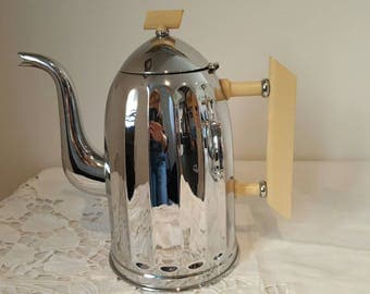 Danish vintage art deco coffee pot