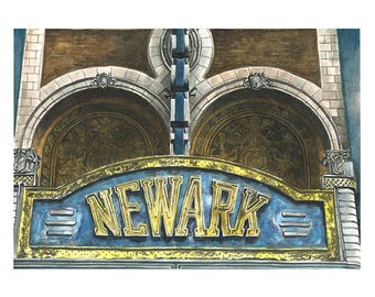 Newark Marquee 8x10