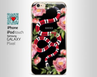 Gucci case snake iphone 7 case - iPhone 4/4s, 5/5S, 5C, 5SE, 6/6 plus, 7/7 Plus, Samsung Galaxy S4, S5, S6/edge/edge plus, S7/S7E OL_YI027