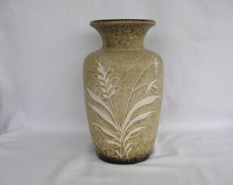 West German Art Pottery Vase 202/24. About 9.5""