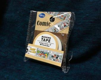 disney mickey comic washi tape 15mm x 8m