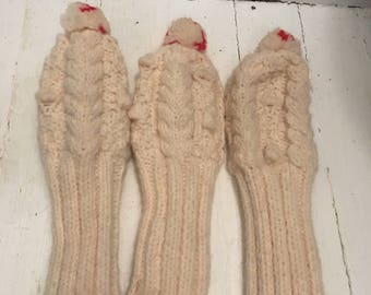 Vintage Knit Golf Club Head Covers
