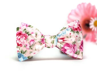 Mens bowtie Floral wedding bow tie 100%Cotton men's self tie bow tie Self Tied bow tie 330