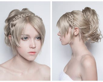 Made to order: Lunafreya Nox Fleuret from Final Fantasy 15 XV cosplay wig