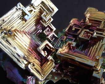163 Gram Bismuth Crystal Cluster