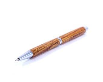 Cocobolo Pencil | Wooden Mechanical Pencil | Wooden Pencil | Wood Pencil | Dark Red Pencil | Elder Pens |