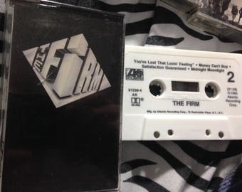 THE FIRM audio cassette tape
