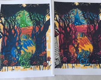 WIZARD of OZ set (2pcs) art print  •  art print •  COLLECTION •  large size
