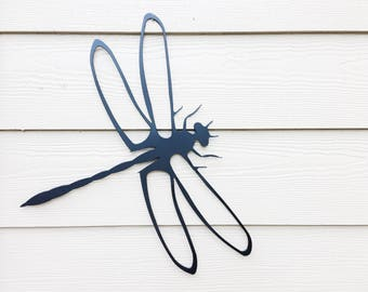 Dragonfly Wall Art - Metal Dragonfly - Metal Sign - Dragonfly Lover - Dragonfly - Metal Wall Decor