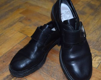 Vintage Rieker Antistress women shoes real leather size 39