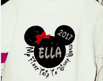 First Disney Trip Tee Boy/Girl