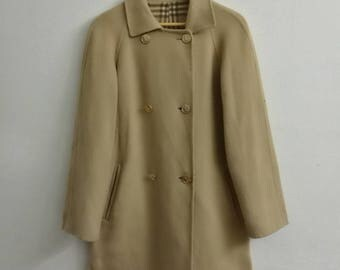 vintage BURBERRY Trench Coat Winter Coat Women's Dress