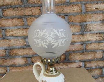Victorian French Table Lamp