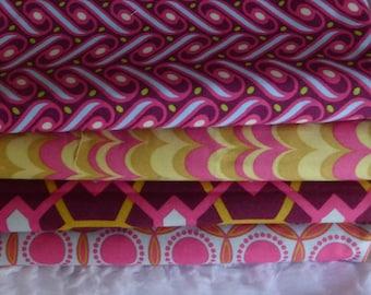 lot 4 PATCHWORK fabrics JOEL DEWBERRY HEIRLOOM collection