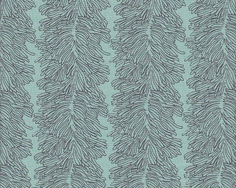 Tissu patchwork bleu Curious Nature Parson Gray Coral Reef PWPG 001