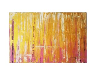 Painting Abstract Large, Contemporary Art, Colorful Wall Art, Unique Artwork Abstract, Painting large Gold, Abstract Painting Gold, Gold Art